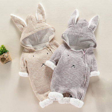 3D Rabbit Ear Jumpsuit
