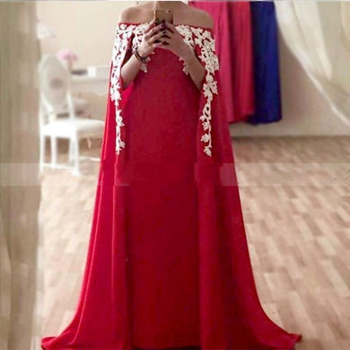 Red Custom Formal Dress