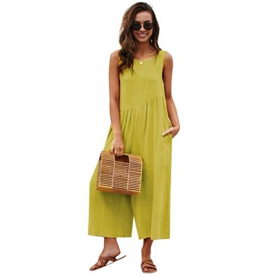 Rompers Jumpsuit Wide Leg Pants