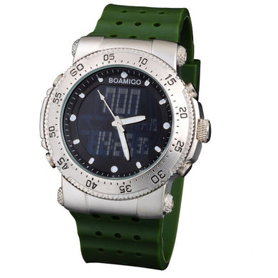 Sports  LED Dual Display Watch