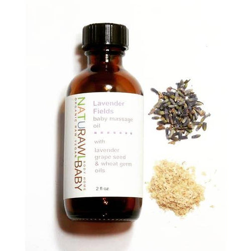 Lavender Fields Baby Massage Oil