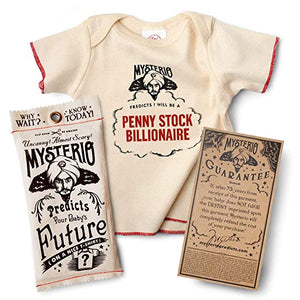 Wry Baby Mysterio Baby Tee Predicts Your Child's Future