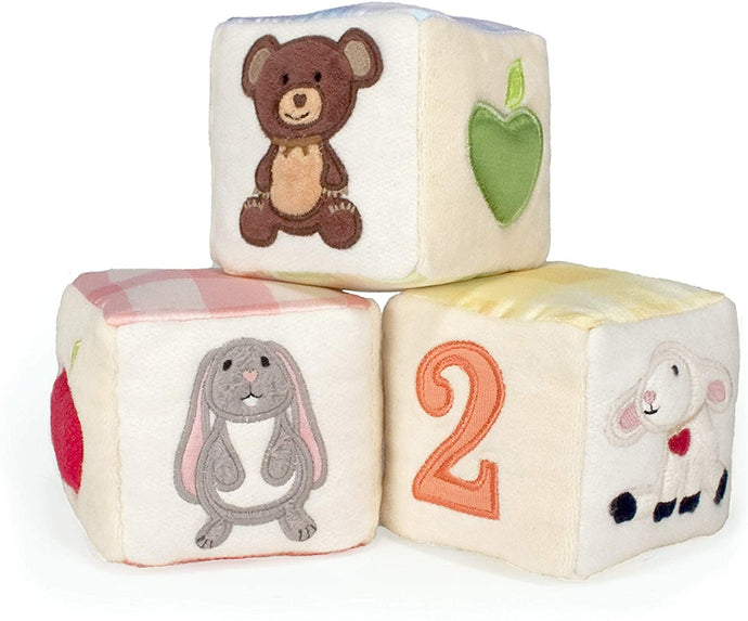 Apple Park - Picnic Pals Organic Soft Block Set