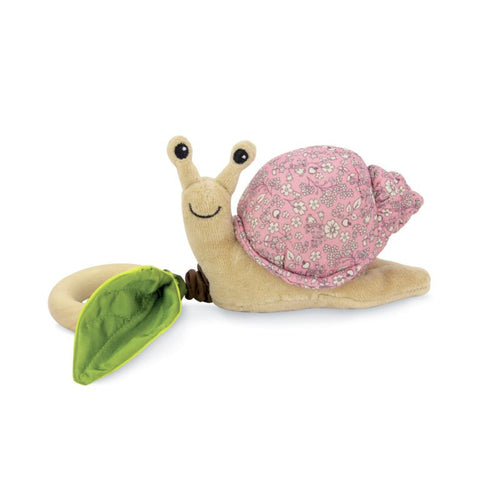 Apple Park Crawling Snail Teething Toy