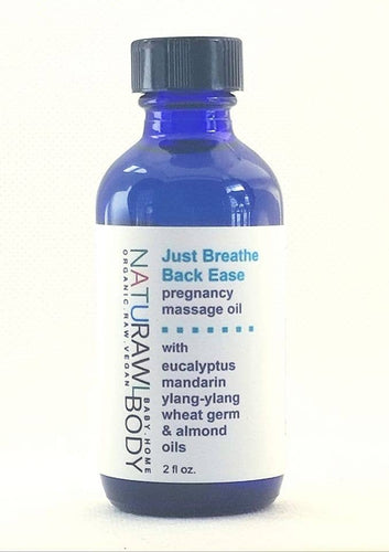 Just Breathe Back Ease - Pregnancy Massage Oil