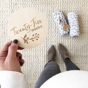 Pregnancy Milestone Moments Set