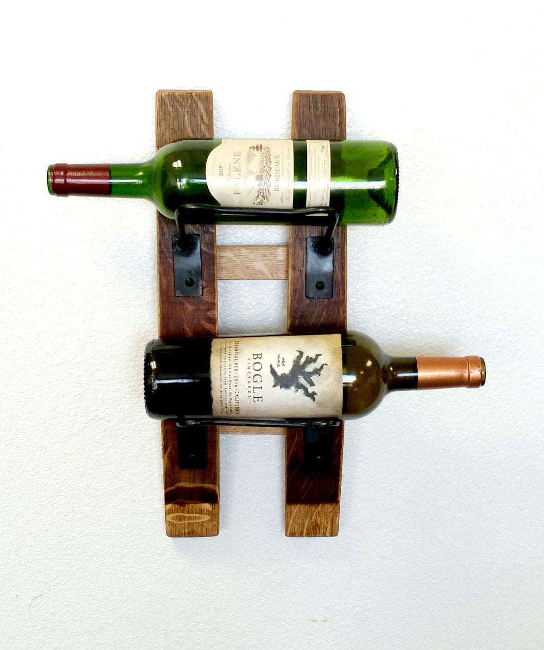 Metal Wire Wall-mounted Wine Rack