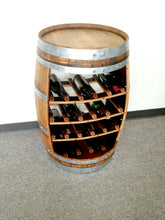 Split Barrel - 18 Bottle Wine Rack