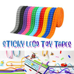 Sticky LEGO Toy Tapes (2PCs)