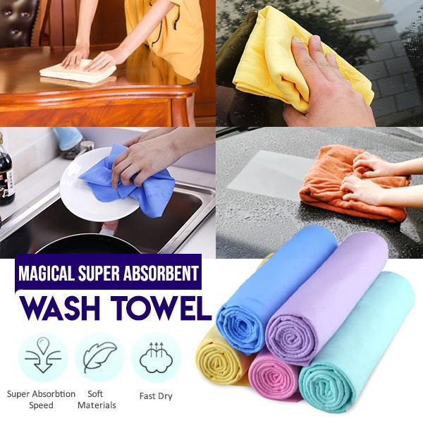 Super Absorbent Wash Towel (2PCs)