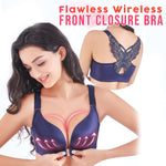 Flawless Wireless Front Closure Bra