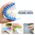 360 Flexible Foldable Brush