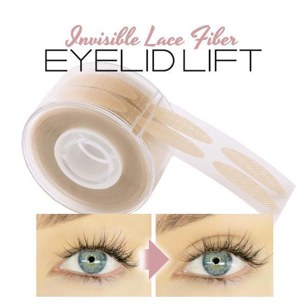 Invisible Lace Fiber Eyelid Lift