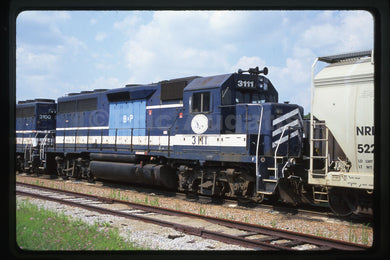 Buffalo & Pittsburgh (BPRR) #3111 GP40