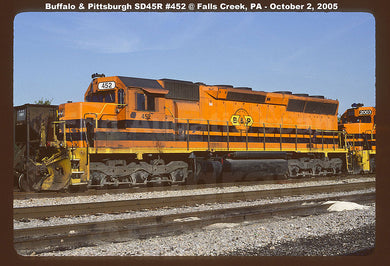 Buffalo & Pittsburgh (BPRR) #452 SD45