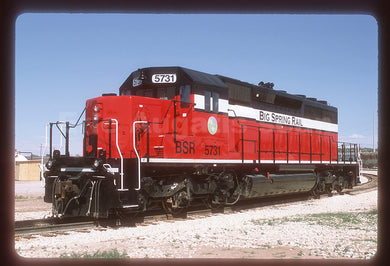 Big Spring Rail (BSR) #5731 SD40-2