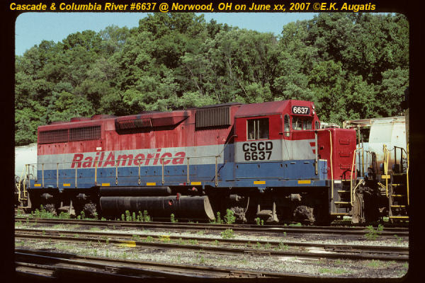 Cascade & Columbia River (CSCD) #6637 GP40