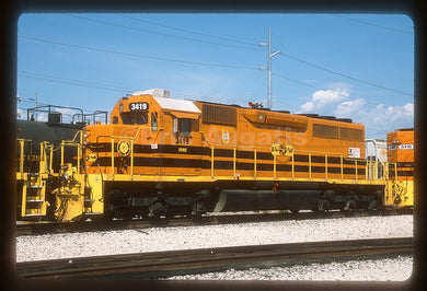 Dallas, Garland & Northeastern (DGNO) #3419 SD40-3