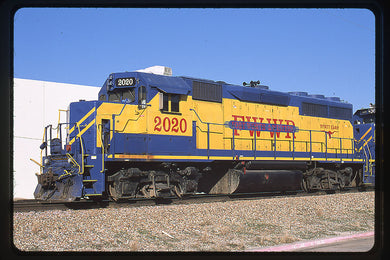 Fort Worth & Western (FWWR) #2020 GP40-2