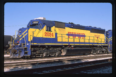 Fort Worth & Western (FWWR) #2024 SD40-2