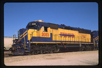 Fort Worth & Western (FWWR) #2025 SD40-2M