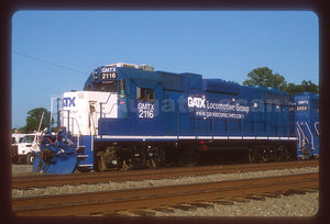 GATX Locomotive Group (GMTX) #2116 GP38-2