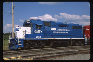 GATX Locomotive Group (GMTX) #2653 GP38-2