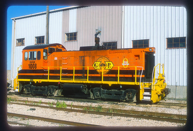 Galveston Railroad (GVSR) #1008 SW1001