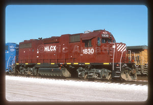 Helm Leasing (HLCX) #1830 GP38-2