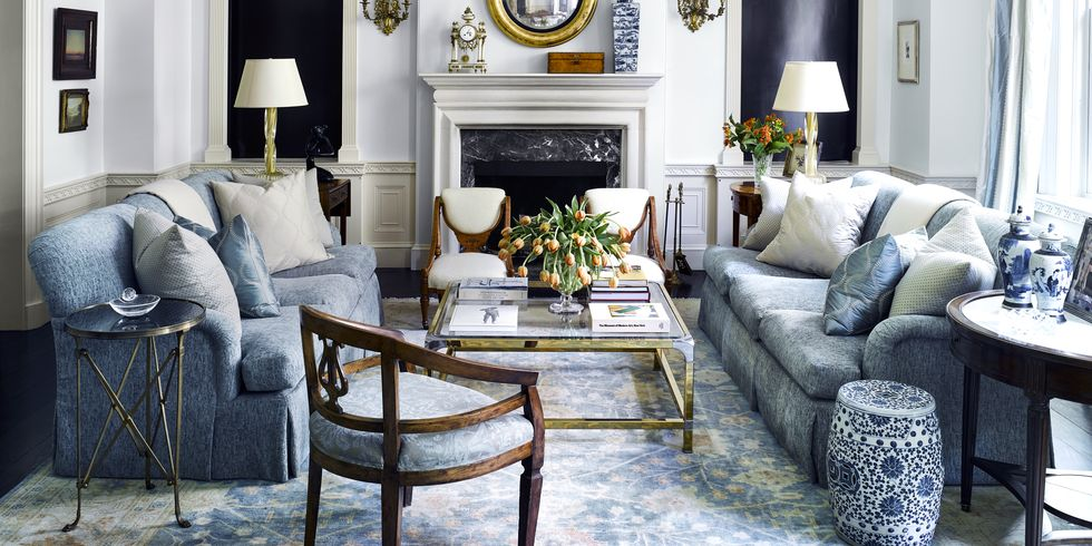 French Country design style living room