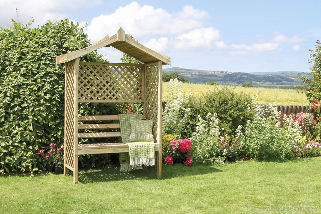 build an arbor bench in a weekend diy project