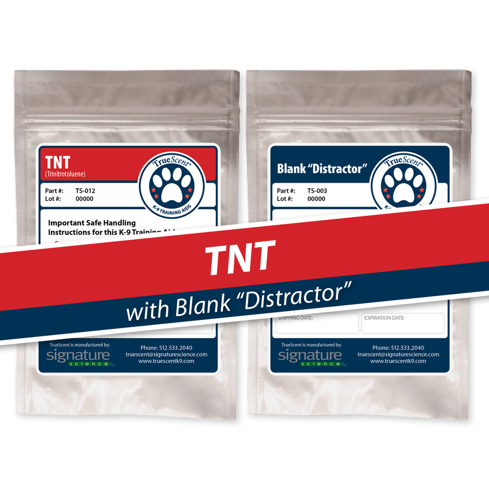 "Photo of TNT Training Scent and Blank ""Distractor"""