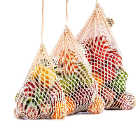 Best Mesh Produce Bags, Set of 3