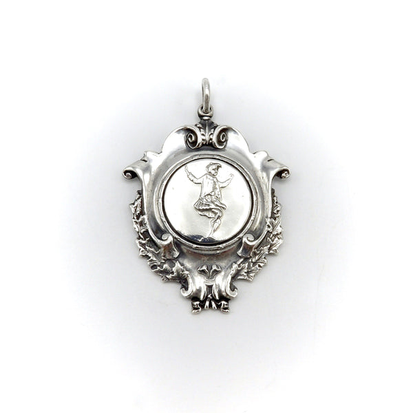 Sterling Silver Scottish Highland Games Dancing Medal Pendant Charm Kirsten's Corner