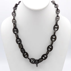 Gutta Percha Antique Victorian Necklace - Kirsten's Corner Jewelry