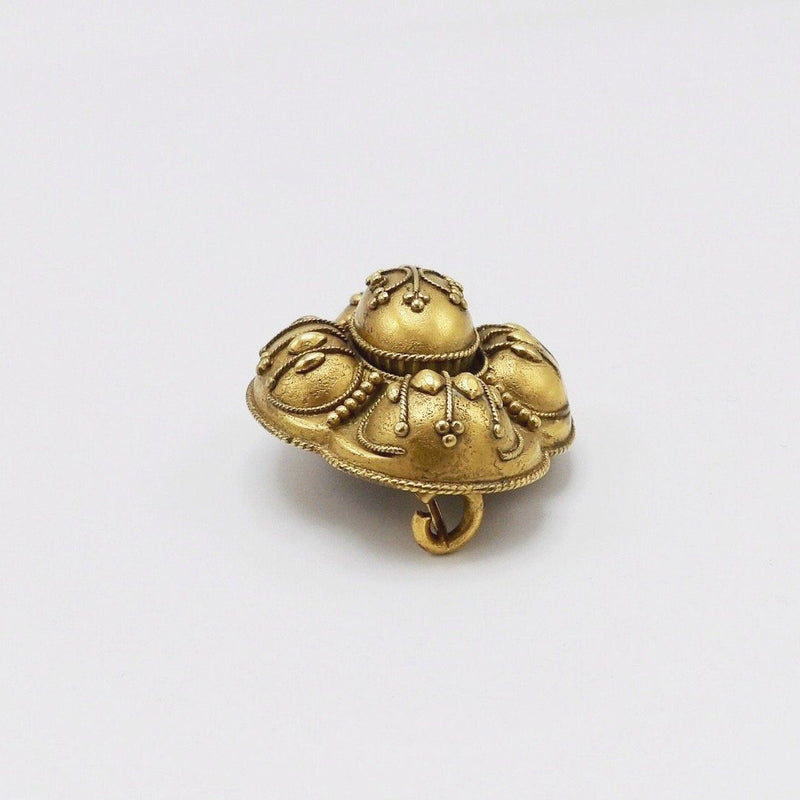 Beautiful Gold Filled Mourning Brooch Brooches, Pins Kirsten's Corner Jewelry