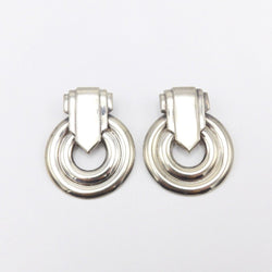 Silver Statement Earrings by Carlotta Bijoux Earrings Kirsten's Corner Jewelry