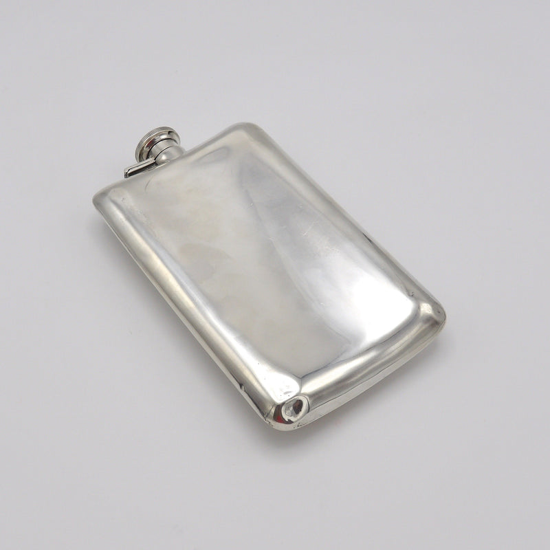 1920s Alvin Sterling Silver Flask Objects of Virtue Kirsten's Corner Jewelry