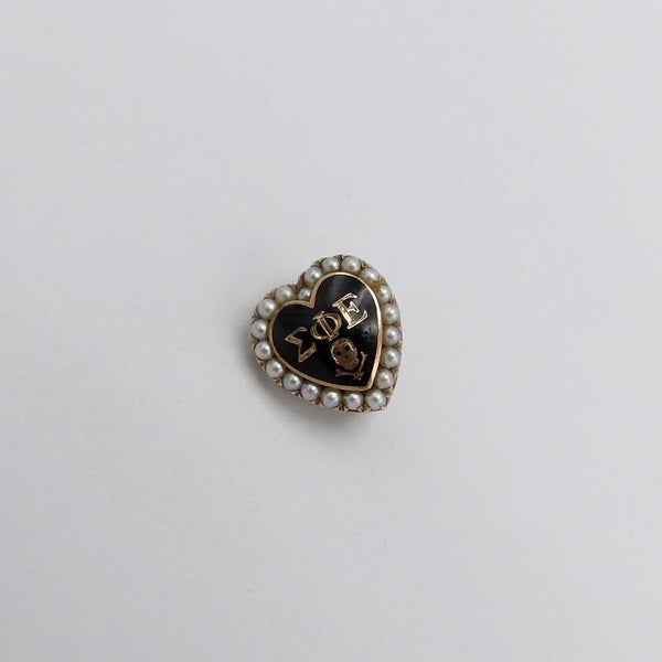Vintage Fraternity Memento Mori Pin Brooches, Pins Kirsten's Corner Jewelry