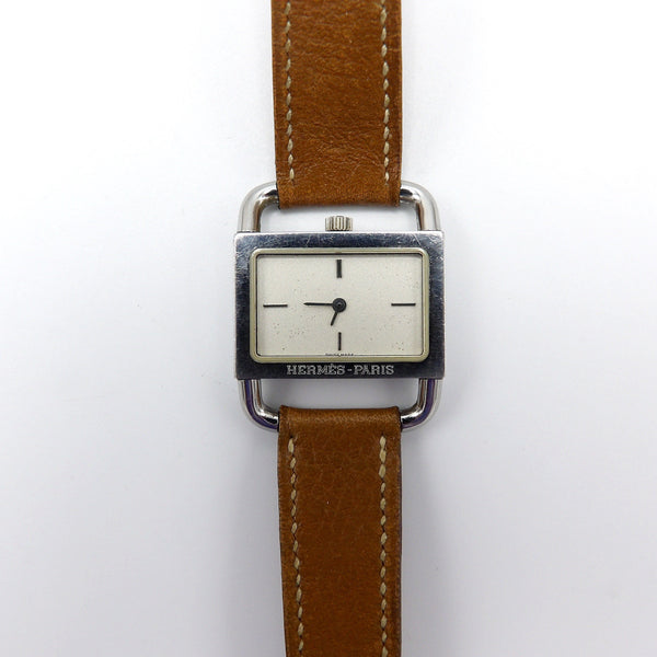 Vintage Etrier Watch by Hermes, Paris - Kirsten's Corner Jewelry
