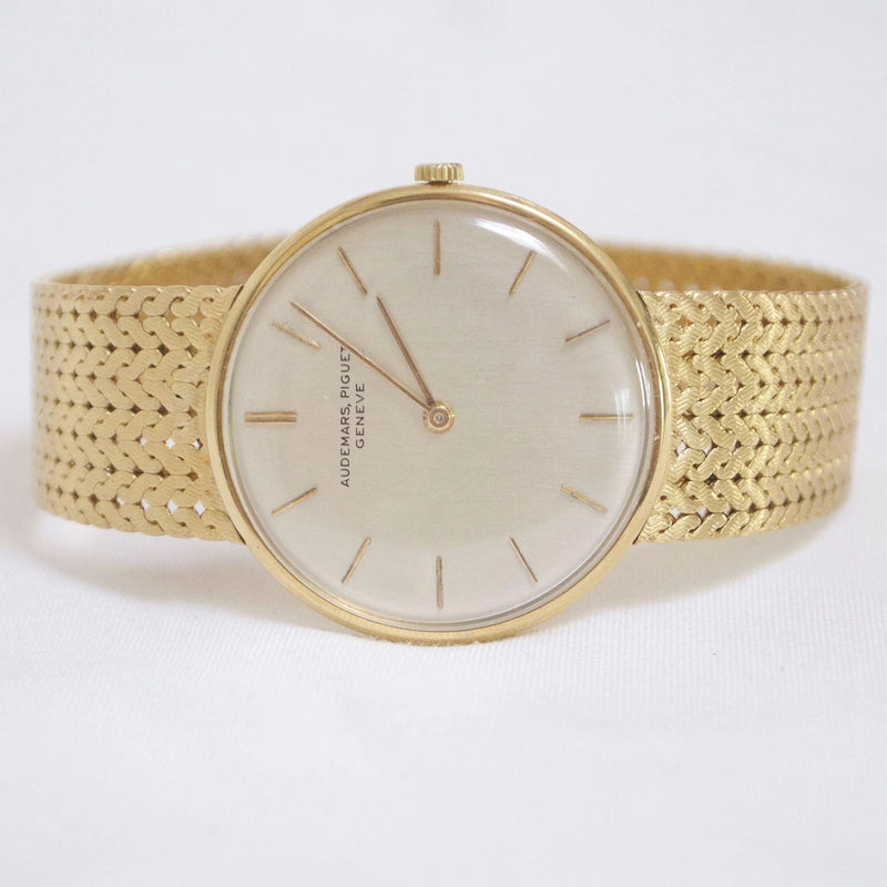 Amazing Vintage Audemars Piguet 18Kt Gold Wristwatch Watch Kirsten's Corner Jewelry