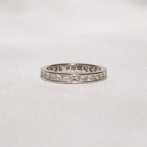 Remarkable 18K Gold and Diamond Eternity Ring Kirsten's Corner Jewelry