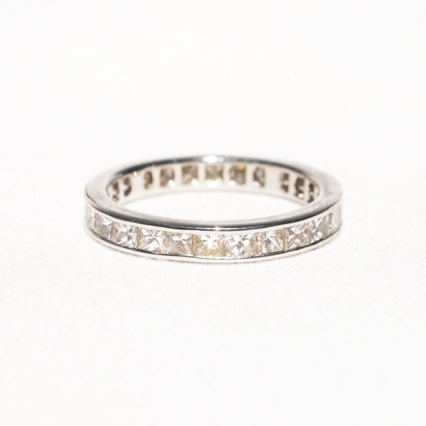 Remarkable 18K Gold and Diamond Eternity Ring - Kirsten's Corner Jewelry