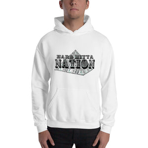 Open image in slideshow, HARD HITTA NATION MONEY PYRAMID Unisex Heavy Blend Hooded Sweatshirt