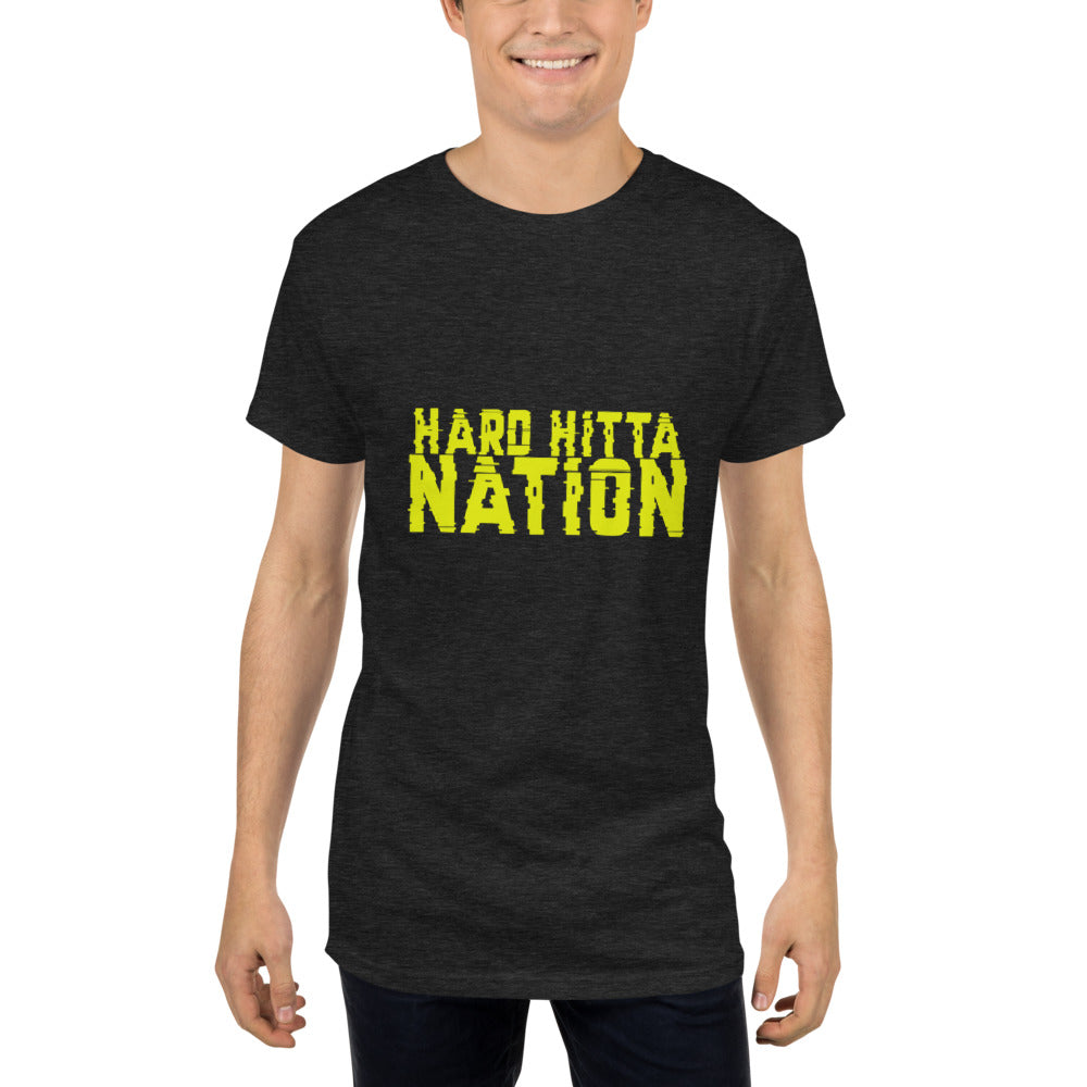 HARD HITTA NATION DIGITAL Long Body Urban Tee
