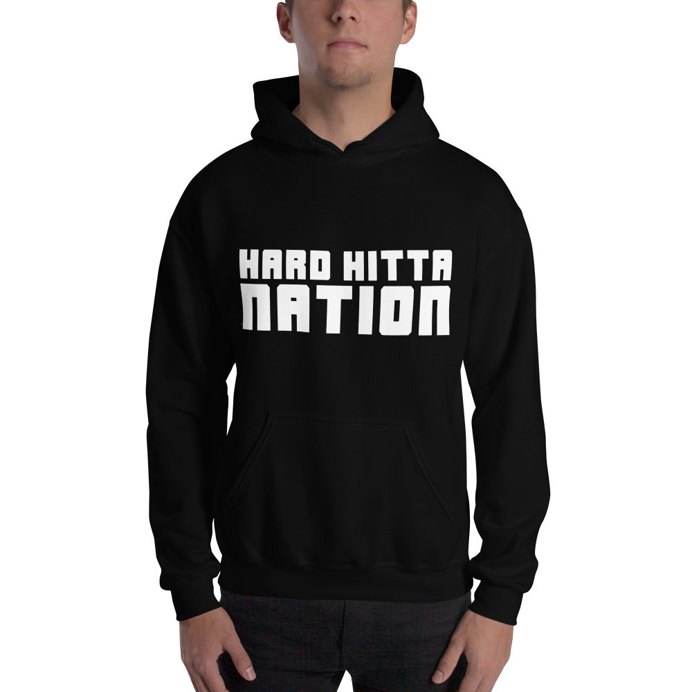 HARD HITTA NATION Unisex Heavy Blend Hooded Sweatshirt
