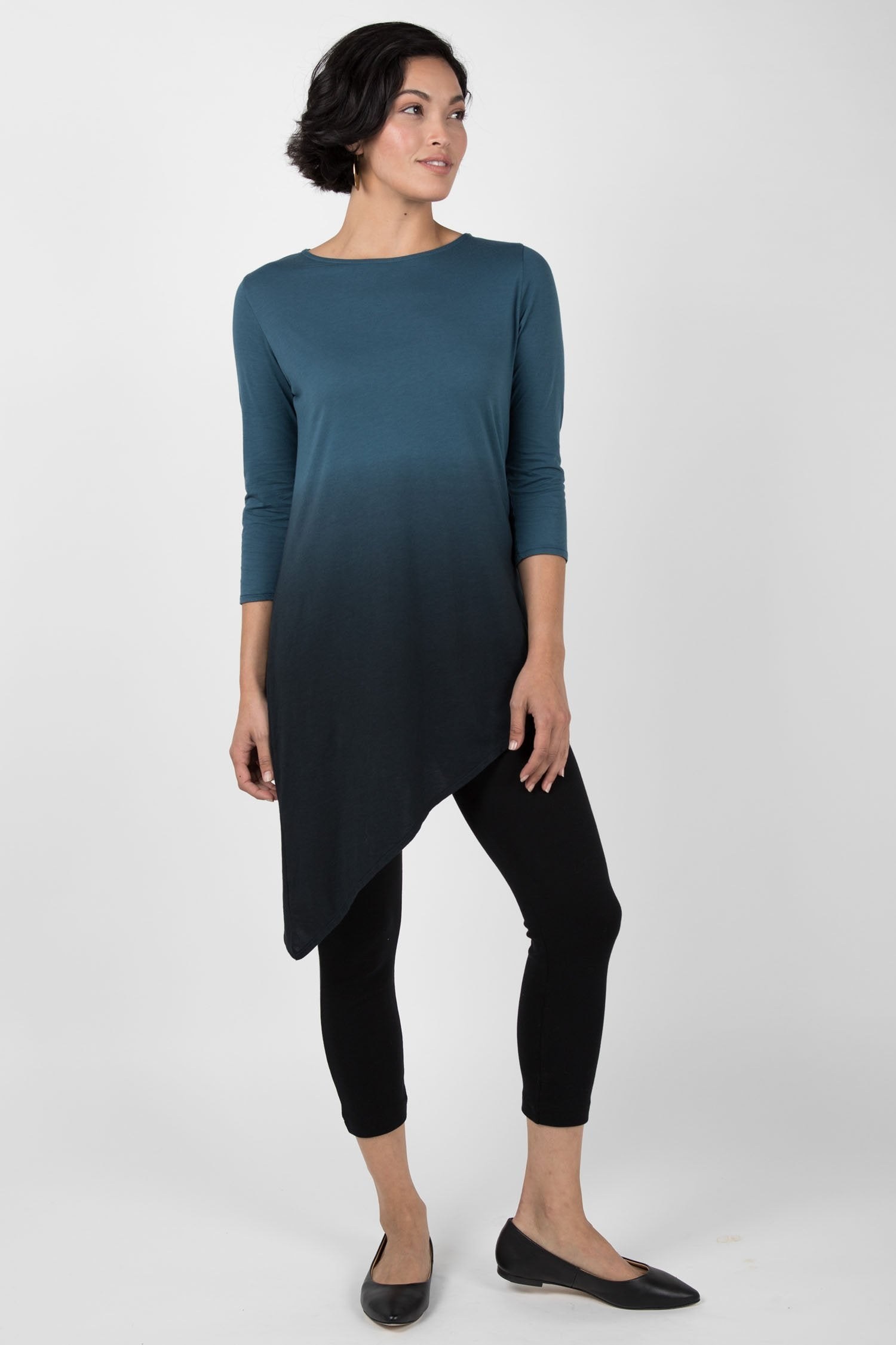 Ombre Tunic Top