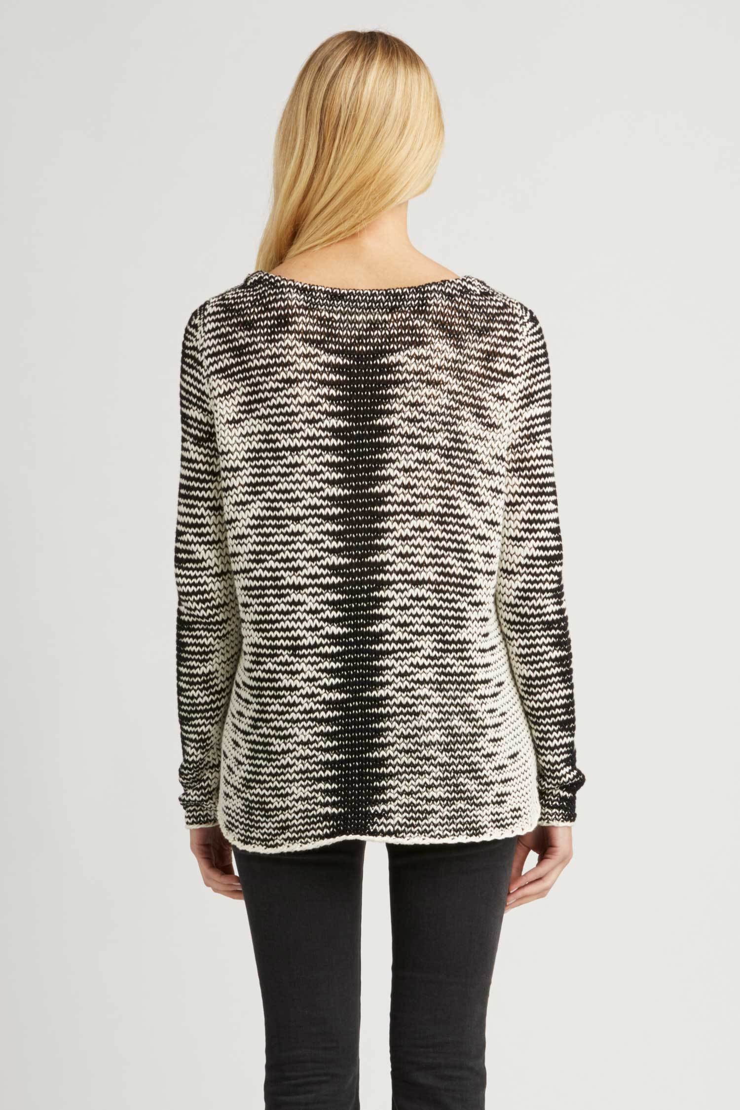 Womens Artisan Knit Sweater | Amaru Pullover from INDIGENOUS