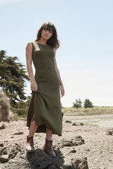 Essential Boatneck Dress S20