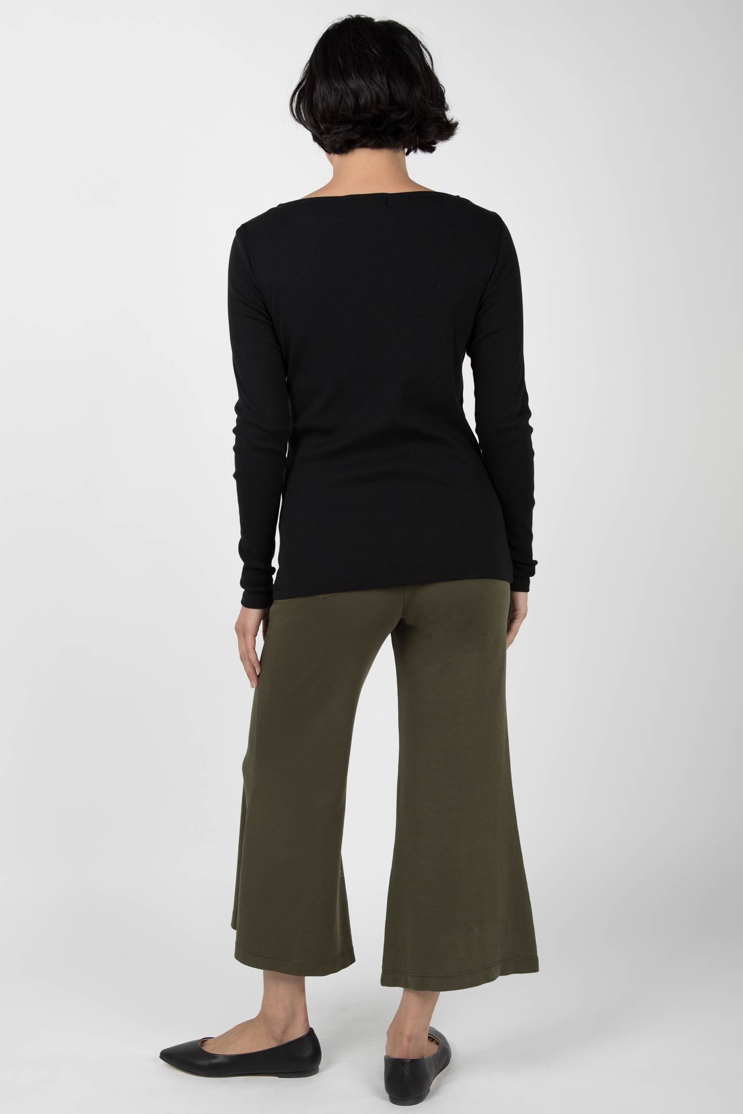 Essential Cropped Wide Leg Pant S20